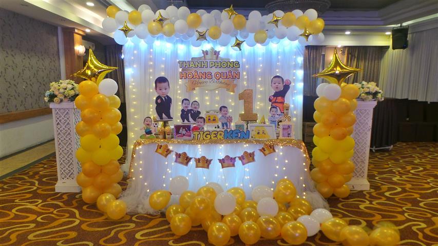 [TIỆC THÔI NÔI] Mừng Thôi Nôi 2 bé Thanh Phong & Hoàng Quân tại sảnh diamond