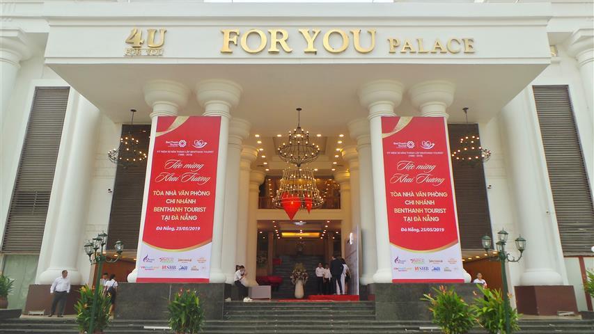 [TIỆC MỪNG KHAI TRƯƠNG] tòa nhà văn phòng chi nhánh BENTHANH TOURIST tại đà nẵng  ở sảnh #rose tối ngày 25.05.2019.