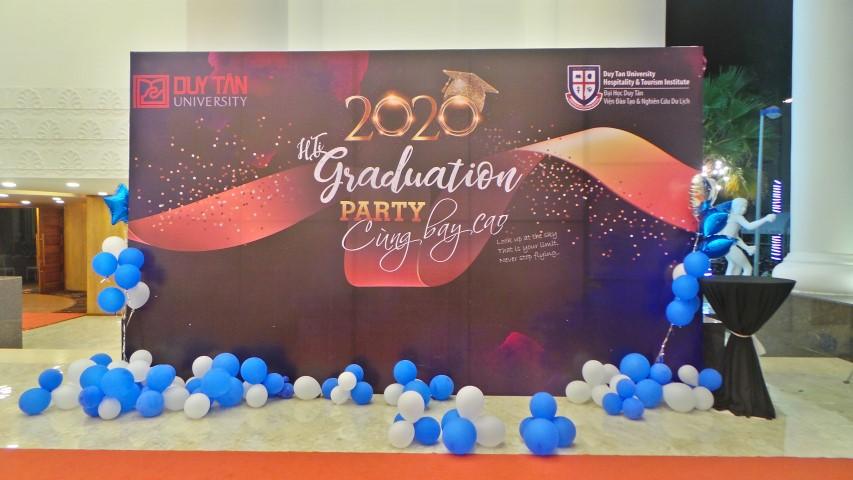 """Tiệc """"GRADUATION"""" party cùng bay cao – SẢNH DIAMOND"""